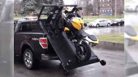 Local Motorcycle Towing Company